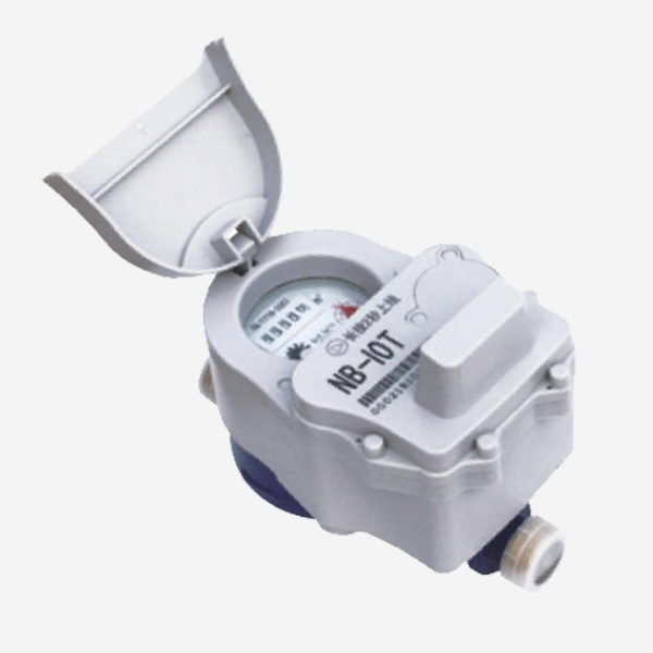 IOT non-magnetic valve-controlled water meter